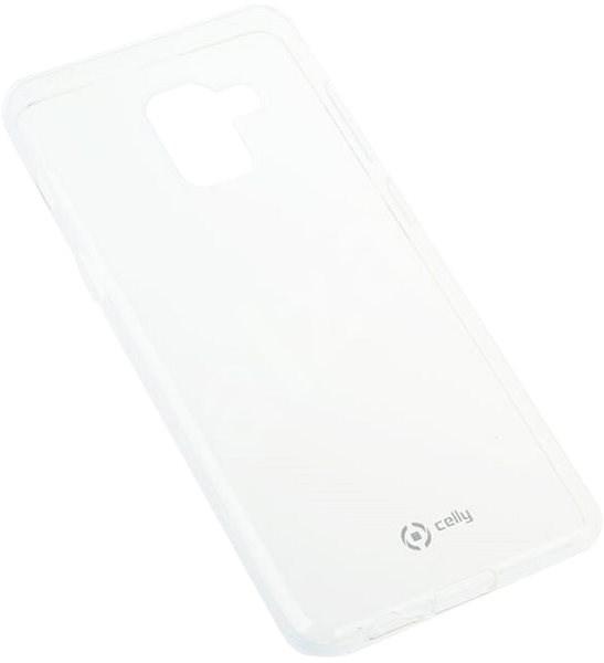 CELLY GELSKIN pro Samsung Galaxy A8 (2018) bezbarvý - Kryt na mobil