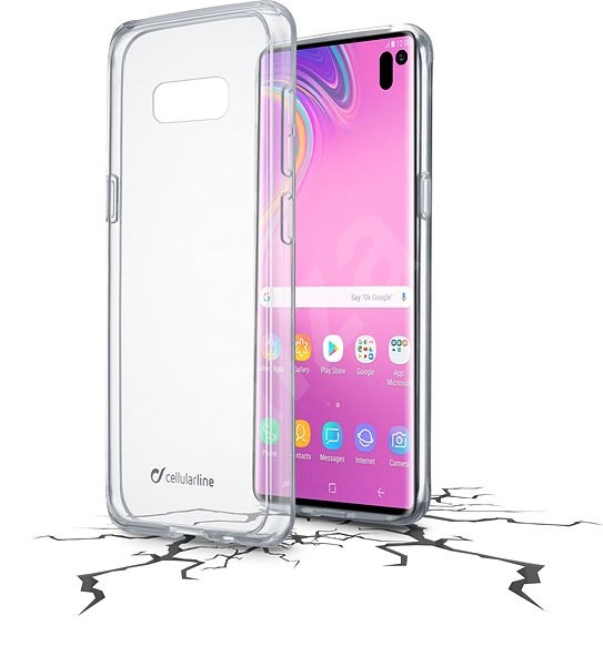 Cellularline CLEAR DUO pro Samsung Galaxy S10e - Kryt na mobil