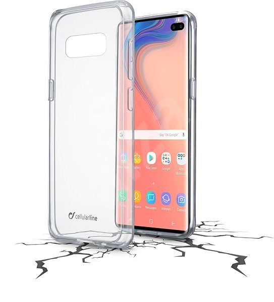 Cellularline CLEAR DUO pro Samsung Galaxy S10+ - Kryt na mobil