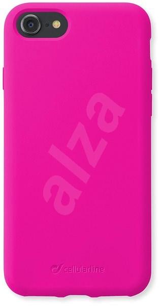 CellularLine SENSATION pro Apple iPhone 8/7/6 růžový neon - Kryt na mobil