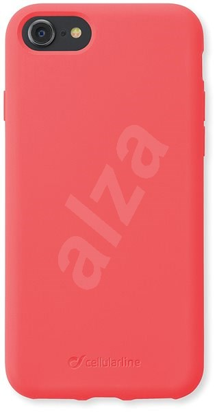 CellularLine SENSATION pro Apple iPhone 8/7/6 oranžový neon - Kryt na mobil