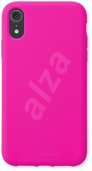 CellularLine SENSATION pro Apple iPhone XR růžový neon - Kryt na mobil