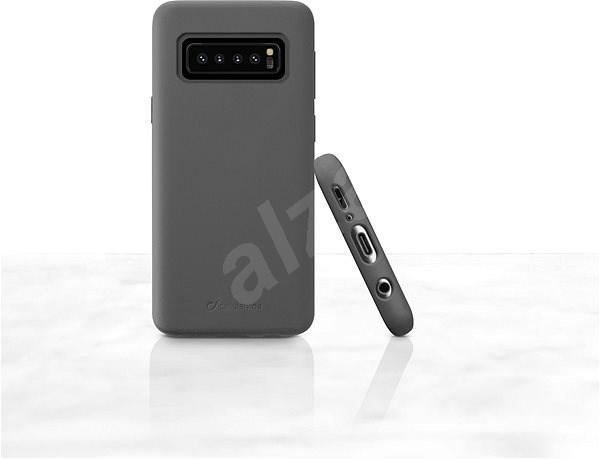 CellularLine SENSATION pro Samsung Galaxy S10 černý - Kryt na mobil