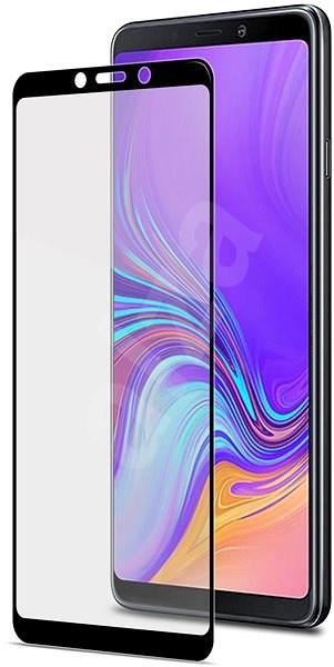 CELLY Full Glass pro Samsung Galaxy A9 (2018) černé - Ochranné sklo