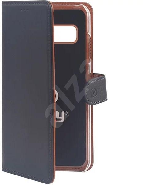 CELLY Wally pro Samsung Galaxy S10e černé - Pouzdro na mobilní telefon
