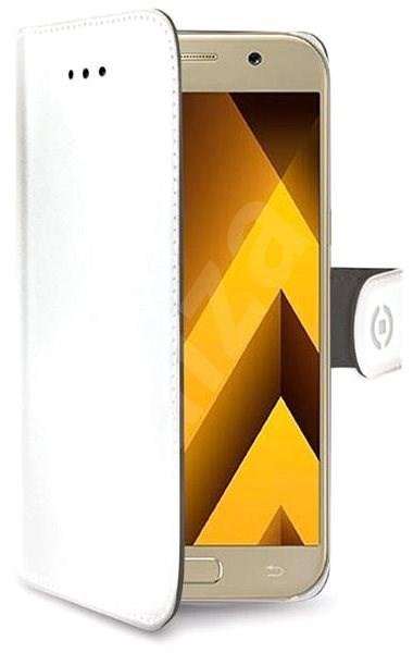 CELLY Wally pro Samsung Galaxy S10 bílé - Pouzdro na mobilní telefon