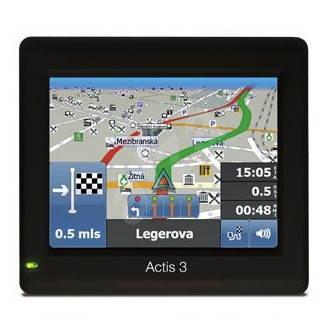 MAPFACTOR Actis 3 Truck - GPS navigace