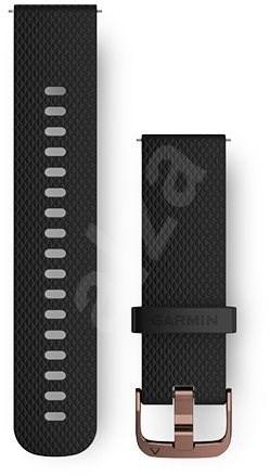 Garmin Quick Release (20 mm) Black - Rose Gold - Řemínek