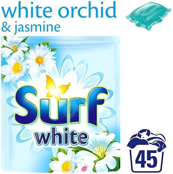 SURF White Orchid & Jasmine 45 ks (45 praní) - Kapsle na praní
