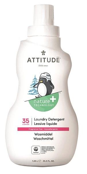 ATTITUDE Prací gel pro děti bez vůně 1,05 l (35 praní) - Eko prací gel