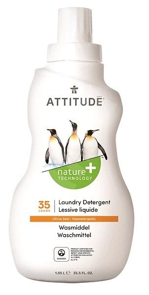 ATTITUDE Prací gel s vůní citronové kúry 1,05 l (35 praní) - Eko prací gel