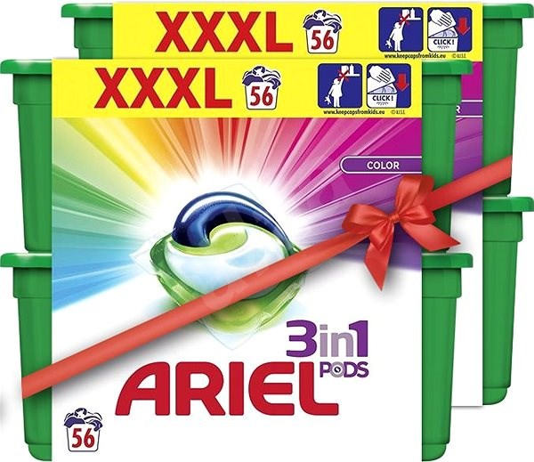 ARIEL Color 3in1 112 ks - Kapsle na praní