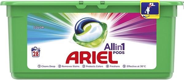 ARIEL Color All in 1 28 ks - Kapsle na praní