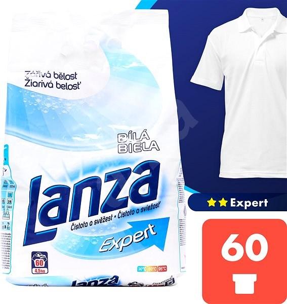 LANZA Expert Bílá 4,5 kg (60 praní) - Prací prášek