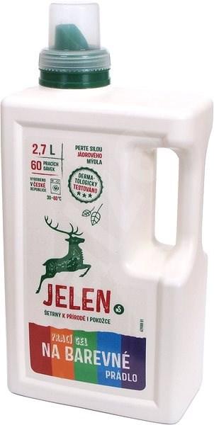 JELEN Prací gel na barevné prádlo 2,7 l (60 praní) - Eko prací gel