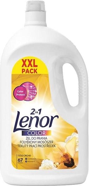 LENOR 2v1 Gold Orchid 3,685 l (67 praní) - Prací gel