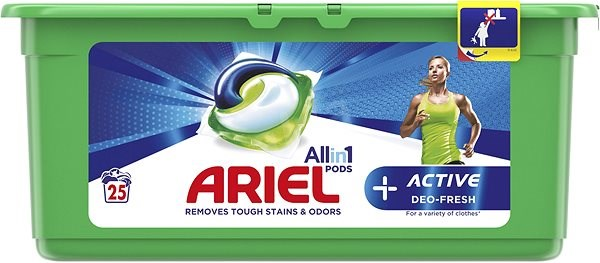 ARIEL Active Sport All in 1 25 ks - Kapsle na praní