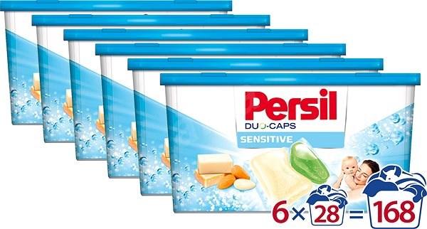 PERSIL Duo-Caps Sensitive 6 × 28 ks - Kapsle na praní