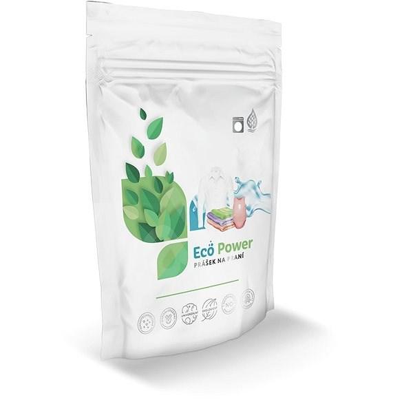 ECO-POWER S: Bio-univerzální deskový prášek (60 praní) - Eko prací prášek
