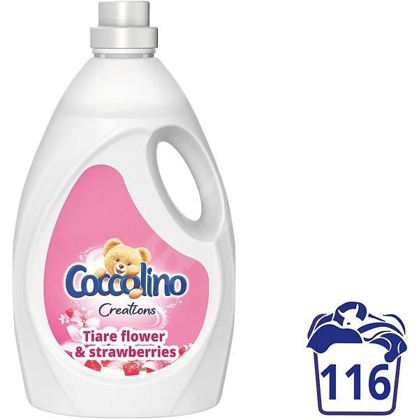 COCCOLINO Tiare Flower & Strawberries 2,9 l (116 praní) - Aviváž