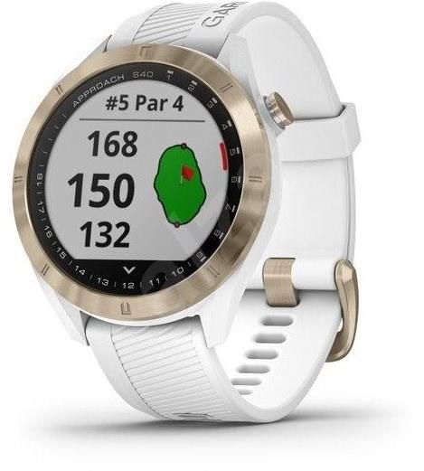 Garmin Approach S40 White - Chytré hodinky