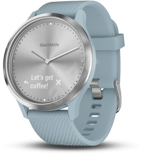 028d026d813 Garmin vívomove Optic Sport Silver Seafoam (velikost S M) - Chytré hodinky