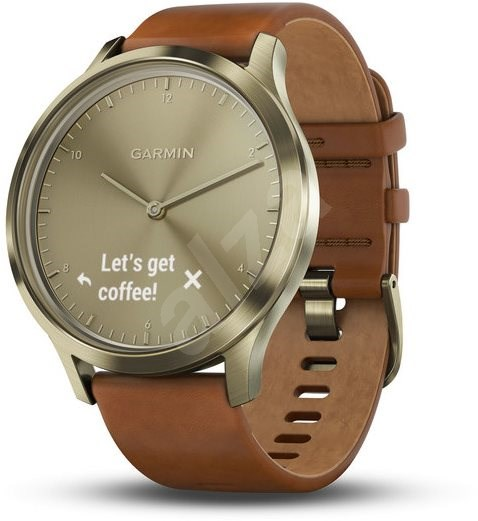 Garmin vívomove Optic Premium Gold (velikost S/M) - Chytré hodinky