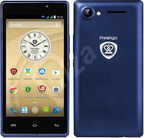 Prestigio Wize A3 modrý Dual SIM - Mobilní telefon