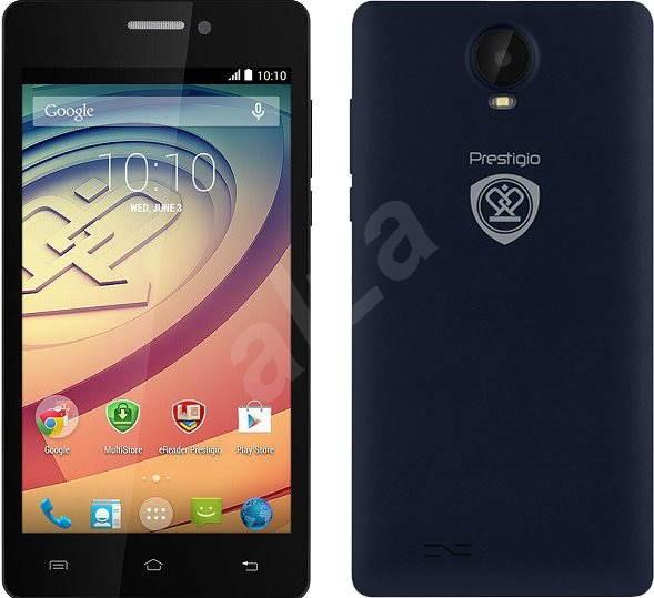 Prestigio Wize E3 Blue - Mobilní telefon