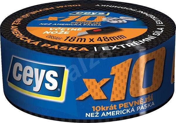 CEYS profesionální x10 18m x 48mm - Lepicí páska