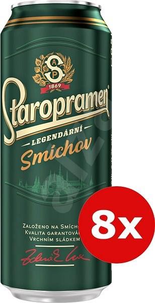 Staropramen Smíchov Xxl Balení 8X0,5L Plech - Pivo
