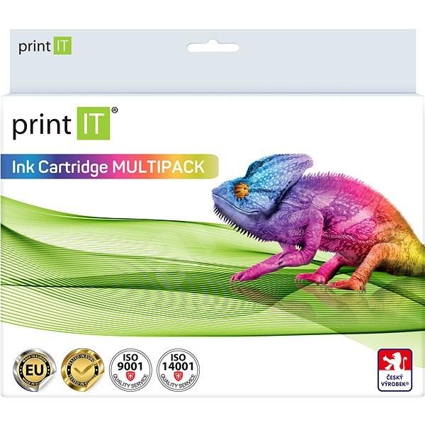 PRINT IT Multipack PGI-550XL + CLI-551XL 3xBk/PBK/C/M/Y pro tiskárny Canon - Alternativní inkoust