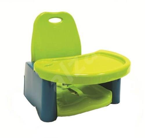 Dětská přenosná jídelní židlička - Limetková - Dětské sedátko