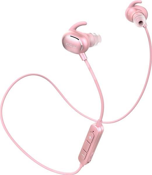 QCY QY19 Phantom Rose Gold - Bezdrátová sluchátka