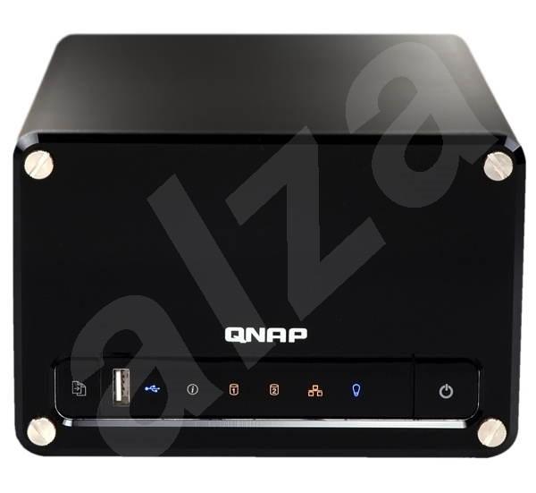 """QNAP TS-209 All-in-One NAS Server, externí box pro 2x 3.5"""" SATA II HDD, GLAN, USB PrintServer, 3xUSB -"""