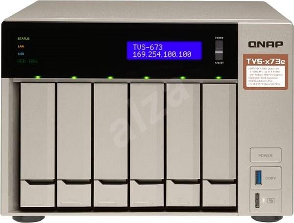 QNAP TVS-673e-8G - Datové úložiště