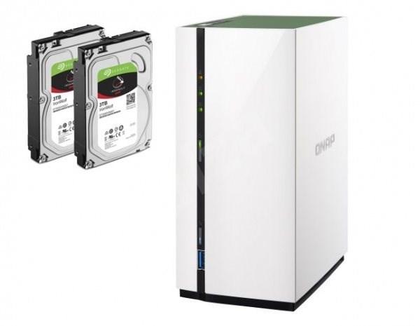 QNAP TS-228A + 2x3TB HDD RAID1 - Datové úložiště