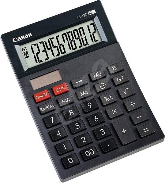 Canon AS-120 - Kalkulačka