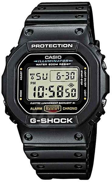Casio G-SHOCK DW 5600E-1 - Pánské hodinky  f256d4a821