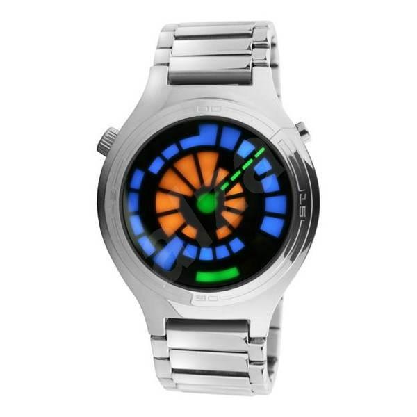 TokyoFlash Round trip - Binární hodinky  00fdbfc7815