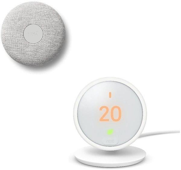Google Nest E - Chytrý pokojový termostat