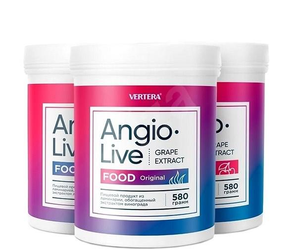 Angio Live 4 druhy ( originál, jablko, višeň, černý rybíz ) - Voucher: