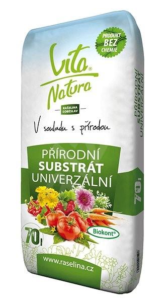 RAŠELINA SOBĚSLAV Vita Natura Přírodní substrát univerzální 70l - Substrát