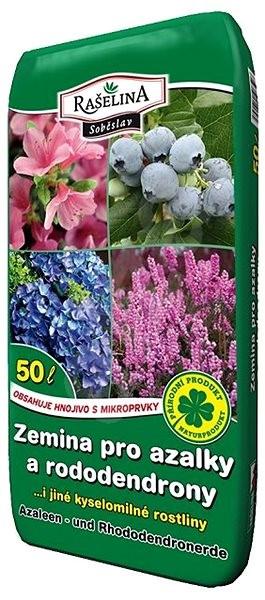 RAŠELINA SOBĚSLAV Zemina pro azalky a rododendrony 50l - Substrát