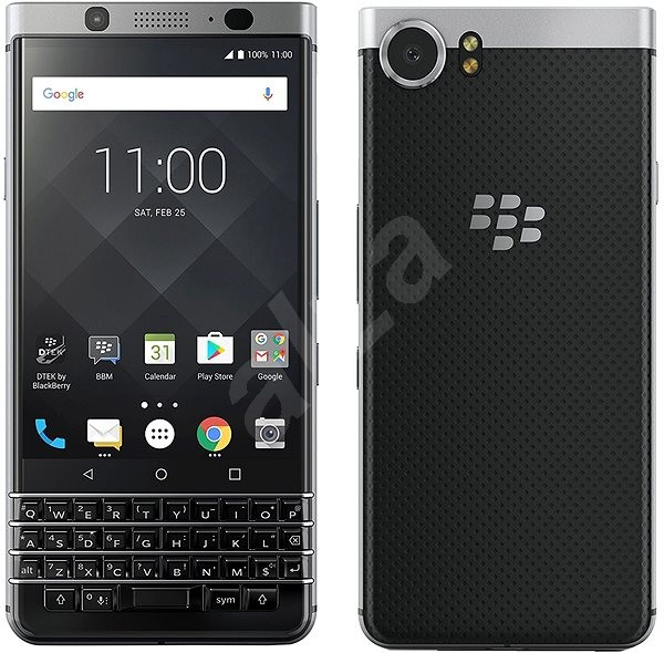 BlackBerry KEYone Silver - Mobilní telefon