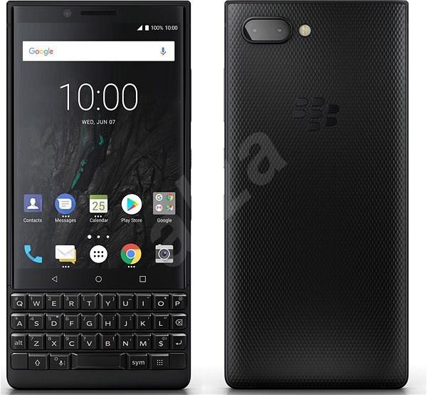 BlackBerry Key2 128GB Černý - Mobilní telefon