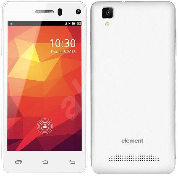 Sencor Element P452 Dual SIM bílý - Mobilní telefon
