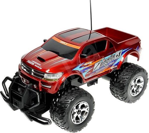 Force Dodge RAM červený - RC model