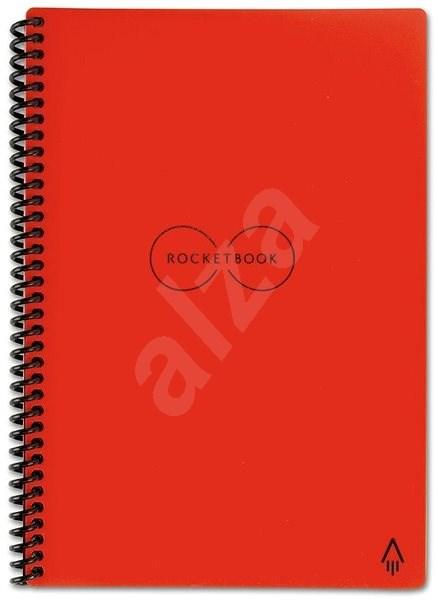 ROCKETBOOK Everlast Executive A5 červený - Poznámkový blok