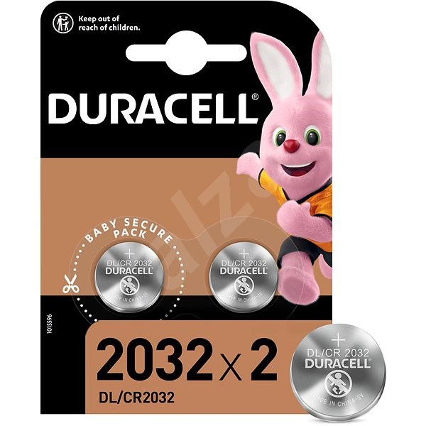 Duracell CR2032 2ks - Knoflíkové baterie